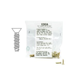 Edea FLAT HEAD SCREWS 100kpl