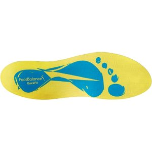 Footbalance Quick Fit, Yellow/Blue tukipohjallinen